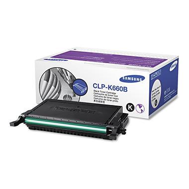 Samsung - CLPK660B High-Yield Toner, 5500 Page-Yield -  Black