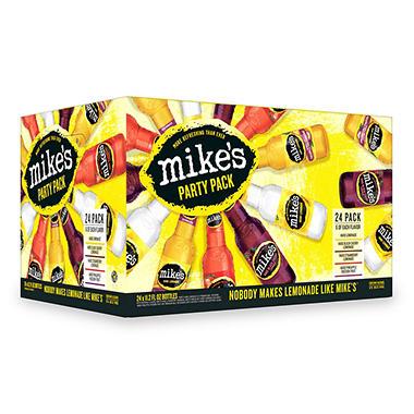 MIKE'S HARD VARIETY 24 / 11.2 OZ BOTTLES