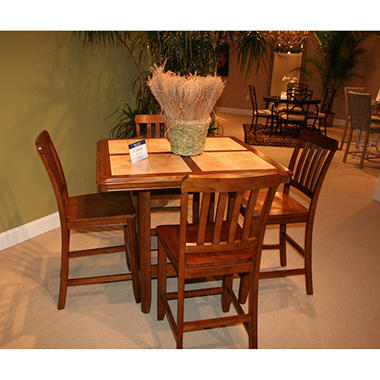 Cabana Casual Tile Top Table Dining Set - 5 pc.