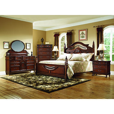 Southern Heritage Cherry Bedroom Set - King - 5 pc.
