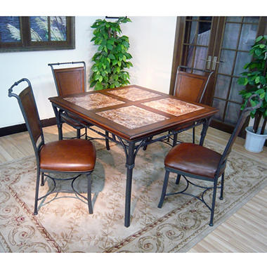 Sierra Madre Dining Chairs - Black/Brown - 2 pc.