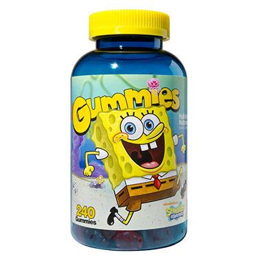 SpongeBob Gummies Multivitamins for Kids - 240 ct.