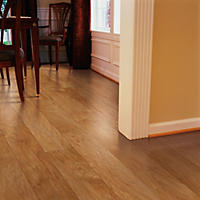 Inspired Elegance by Mohawk Amaretto Hickory Laminate Flooring