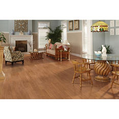 Inspired Elegance by Mohawk Fawn Oak Laminate Flooring