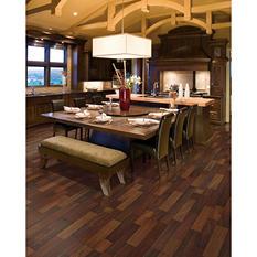 Inspired Elegance by Mohawk Natural Merbau Laminate Flooring