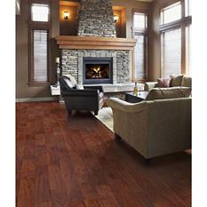 Inspired Elegance by Mohawk Burnt Walnut Laminate Flooring