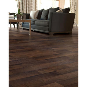 Inspired Elegance by Mohawk Deep Night Oak Laminate Flooring