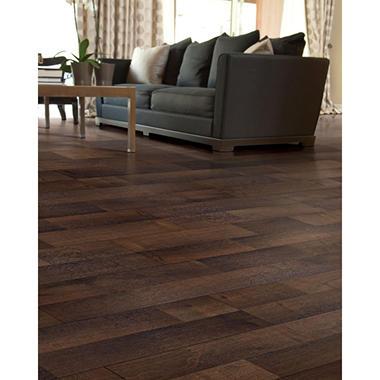 Inspired Elegance by Mohawk Deep Night Oak Laminate Flooring