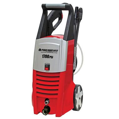 Powerwasher - 1700 PSI - Electric Pressure Washer