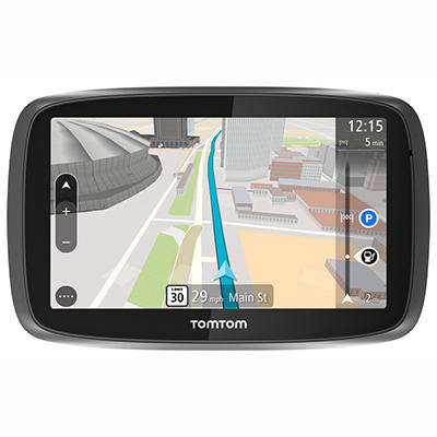 "TomTom GO 500 5"" GPS Navigator with Lifetime Traffic and Map Updates"