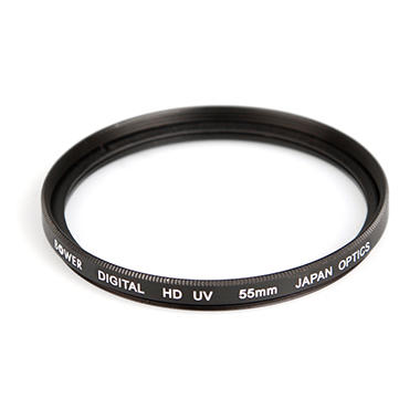 Digital High-Definition 55mm Ultraviolet (UV) Filter - Accessory