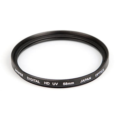 Digital High-Definition 58mm Ultraviolet (UV) Filter - Accessory