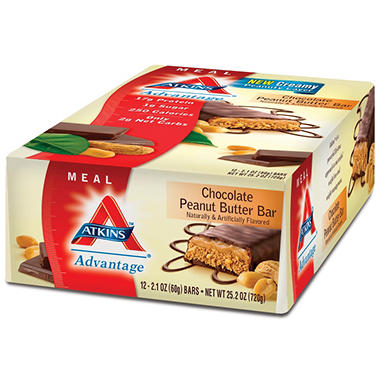 Atkins™ Advantage Chocolate Peanut Butter Bar - 12/2.1 oz.