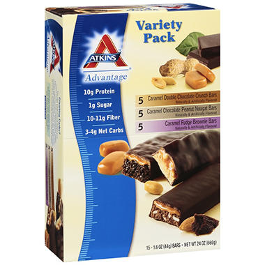 Atkins? Advantage Variety Pack - 15 ct.