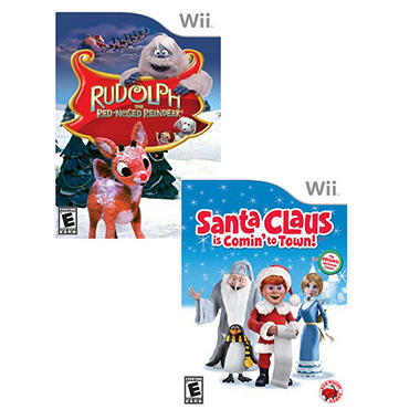 Christmas Fun 2 Pack - Wii