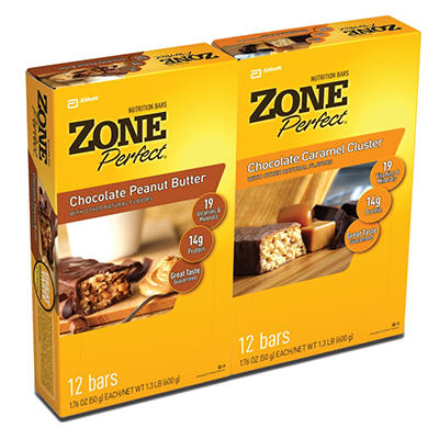 ZonePerfect Nutrition Bars, Classic (1.76 oz., 24 ct.)