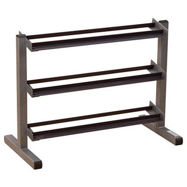 "Body Solid 40"" Wide 3 Tier Dumbbell Rack"