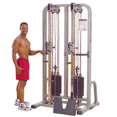 Body Solid Pro Clubline Cable Column - 2x 235 lbs.