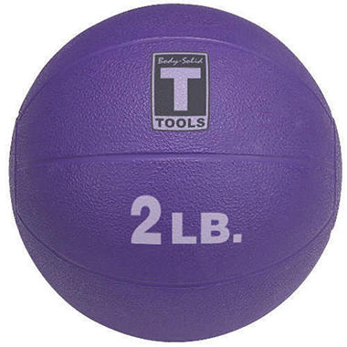 Body Solid Tools BSTMB2 2 lb. Purple Medicine Ball