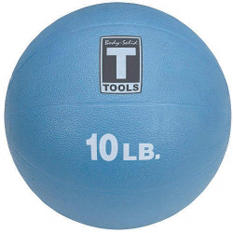 Body Solid Tools BSTMB10 10 lb. Blue Medicine Ball