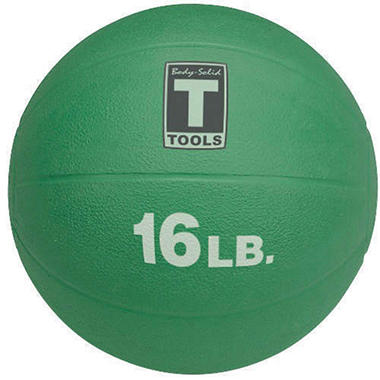 Body Solid Tools BSTMB16 16 lb. Green Med. Ball