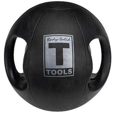 Body Solid Tools BSTDMB10 10lb. Dual Grip Med Ball