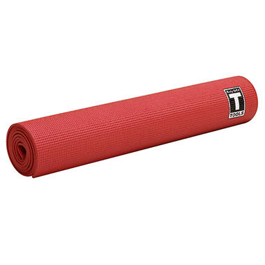 Body Solid Tools 5mm Yoga Mat - Red