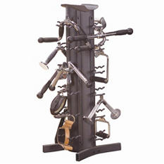 Body Solid Tools Accessory Package with Rack