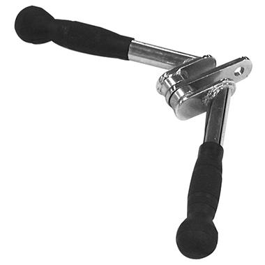 Body Solid Tools Balanced V-Bar with Rubber Grip