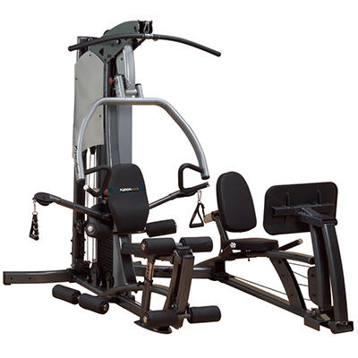F500 Home Gym with 310 lb. Weight Stack and Leg Press