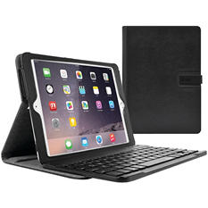 Iluv Professional Workstation Folio with Detachable Bluetooth Keyboard for iPad Air 2