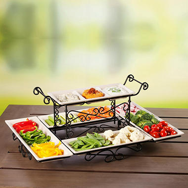 Gourmet Buffet Server - Various Colors