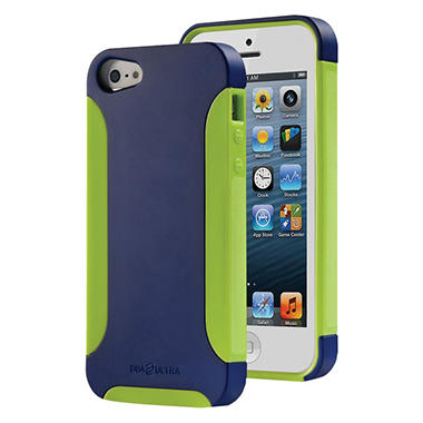 DBA Cases Ultra Complete Case for iPhone 5 - Monaco Blue/Lime