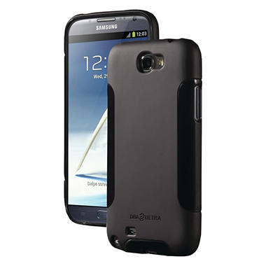 DBA Cases Complete Ultra Case for Samsung Galaxy Note II - Black/Black