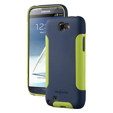 DBA Cases Complete Ultra Case for Samsung Galaxy Note II - Blue/Lime