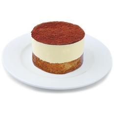 Galaxy Desserts Tiramisu Mousse Cake (4 oz. cake, 24 ct.)