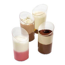 Galaxy Desserts Assorted Mousse Duos (1.35 oz. cup, 96 ct.)