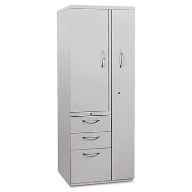 "HON - Flagship Personal Storage Tower, 64-1/4"" High - Light Gray"
