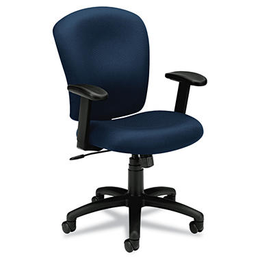 basyx by HON - VL220 Mid-Back Task Chair - Navy