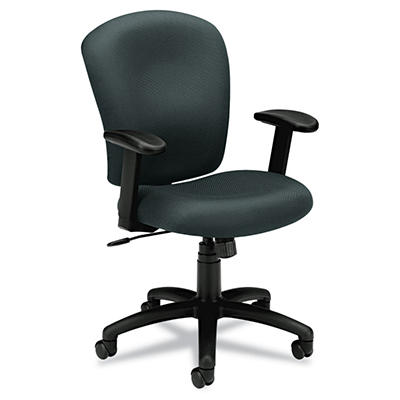 basyx by HON - VL220 Mid-Back Task Chair - Charcoal
