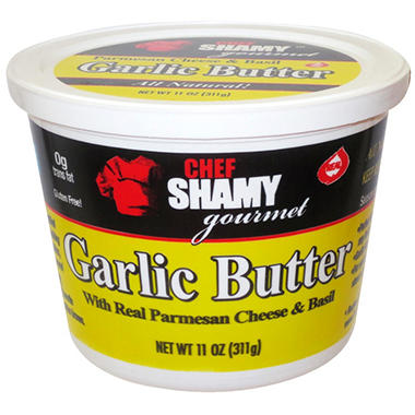 Chef Shamy Garlic Butter, 11 Oz.