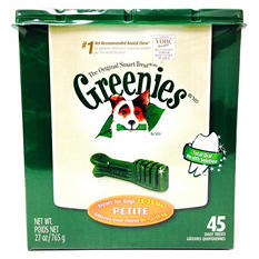 Greenies Dental Dog Chews - Petite - 45 ct.