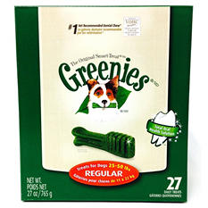 Greenies Dental Dog Chews - Regular - 27 ct.