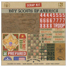 Boy Scouts Of America Scrap Kit-12x12-Boy Scout