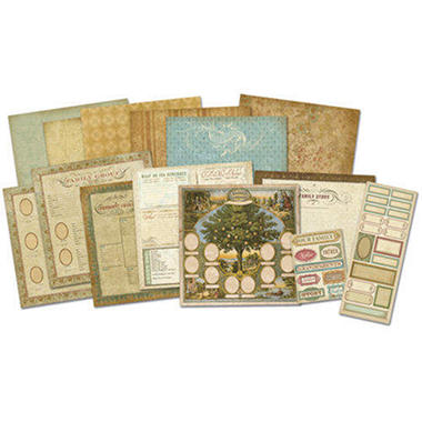 Ancestry.com Scrap Kit - 12x12