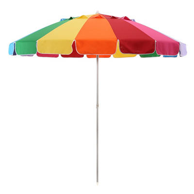 8' Rainbow Beach Umbrella