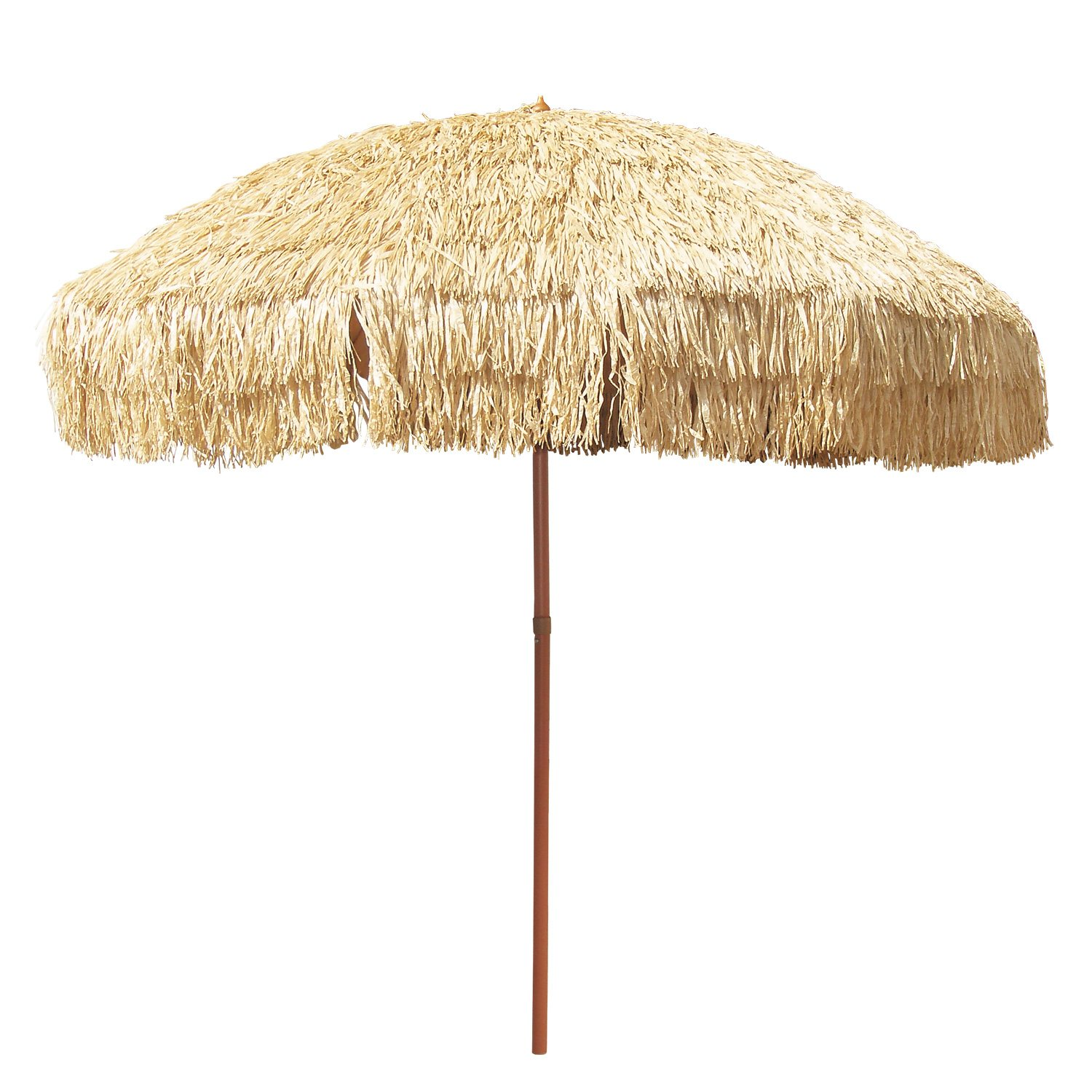 8 Hula Patio Umbrella Hawaii Style Umbrella for Pool