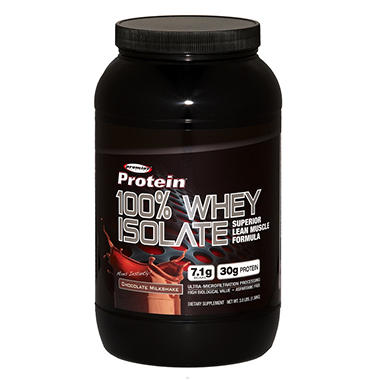 Premier Protein 100% Whey Isolate Powder 3 lbs.