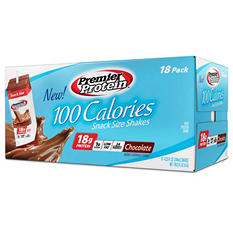 Premier Protein 100 Calorie Snack Size Shake - Chocolate - 18 ct.