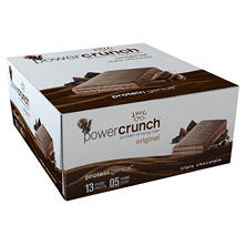 Power Crunch Original Triple Chocolate Protein Energy Bar (1.4 oz., 12 pk.)